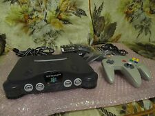 Nintendo 64 N64 Charcoal Gray Ultra HDMI Retroactive 1.06 W Expansion Pack