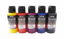 Aerógrafo Pinturas-Vallejo Premium RC colores-caramelo Set (5 X 60ML Botellas)