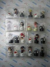 Clamp no Kiseki Vol. 1-8 Chess Figure Set 24 Pieces Japan USED NO BOOK NO BOX