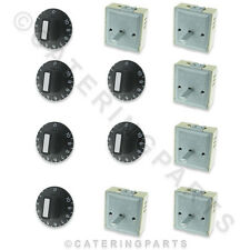 ENSEMBLE DE 6 LOT EGO 50.57021.010 230V RÉGULATEURS & 6 x THERMOSTAT BOUTONS