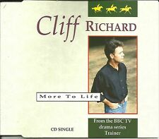 CLIFF RICHARD More to Life / Mo's theme INSTRUMENTAL EUROPE CD single USA Seller
