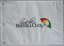 Arnold Palmer's BAY HILL CLUB (White) Embroidered GOLF FLAG