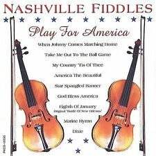 FREE US SH (int'l sh=$0-$3) NEW CD Nashville Fiddles: Play for America