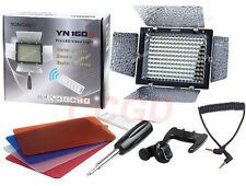 Yongnuo YN-160 II YN160 II LED Video Light +Color Filters For Canon Nikon Camera