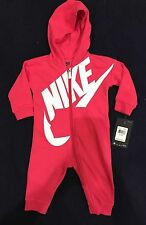 Nike Baby Girls Futura Coveralls Bodysuit Romper Sz 3/6 Months NWT