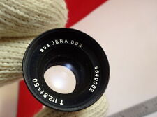 AUS JENA ZEISS DDR 9640002 LENS EYEPIECE MICROSCOPE OPTICS AS PICTURED &A4-FT-21