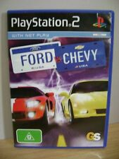 Ford vs. Chevy...PS2 Game..FREE POST AU