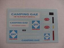 decals decalcomanie renault estafette camping gaz  1/43
