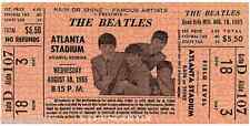 11 1965 THE BEATLES FULL UNUSED CONCERT TICKETS scrapbooking frame reprint set 1