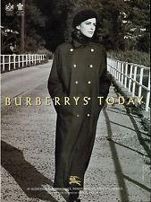 1992 BURBERRYS'  Collections   Fashion Print AD