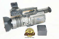 Sony PD150 3CCD MiniDV DVCAM Camcorder – 30 Day Warranty!