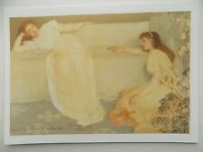 James McNeill Whistler Symphony in White No 9 1867 6x4 Inch Postcard New