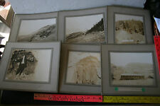 6 Cabinet photos Oroville WA Mining Dividened mine