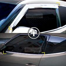 Chrome Window Rain Guard Vent Visor Under Line 8P For HYUNDAI 2011-2017 Veloster