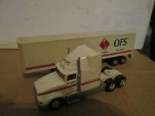 1991 road champs OFS Styline Ind 1/64  RARE  INTERNATIONAL tractor semi trailer