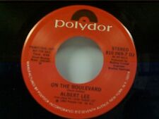 "ALBERT LEE ""ON THE BOULEVARD / SO SAD (TO WATCH GOOD LOVE GO BAD)"" MINT PROMO"