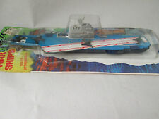 "1978 Tootsietoy War Ships US Aircraft Carrier 8"" Diecast Naval Ship #2975 NOC"