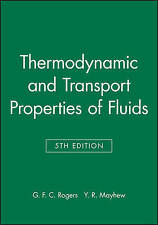 Thermodynamic and Transport Properties of Fluids: S. I. Units by Y. R....