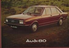 AUDI 80 brochure 1976 (fold-out poster) yc.3