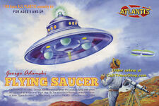 Atlantis #1004 George Adamski Flying Saucers UFO Model Kit 1/60 ltd edition new