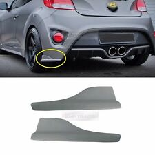 Rear Bumper Protector Fender Lip Unpainted for HYUNDAI 2011-2016 Veloster Turbo