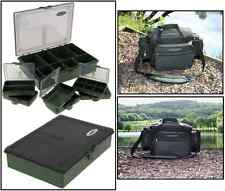 Deluxe Saber Multi Pocket Carryall Bag SL7 + 6+1 Carp Fishing Tackle Box System
