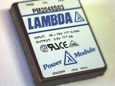 LAMBDA PM2048S03 DC/DC Converter Power Module In: 36-75V Out: 3,3V 16,5W