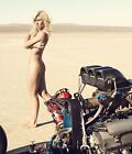 COURTNEY FORCE FUNNY CAR DRAG RACE RACING DRAGSTER 8X10 GLOSSY PHOTO WOW-HOT!