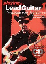 Juego De Plomo Guitarra con la banda 1 Aprende A Tocar La Música Libro & Cd