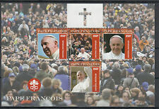 Togo 2014 MNH Pope Francis 4v M/S Religion Roman Catholic Pape Francois