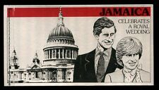 Jamaica 1981 SG#SB16 Royal Wedding Booklet #C5212