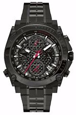 Bulova Men's 98B257 Precisionist Chronograph Black Stainless Steel Watch