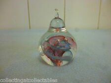 Beautiful Selkirk Glass Pear   Paperweight.