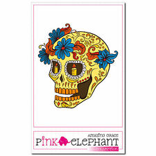 Frankly 08 - A4 - Aufkleber - 20 cm - Dia de los muertos Day of the Dead Sticker