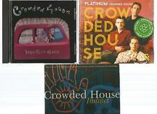 CROWDED HOUSE platinum NEW CD + together alone + INSTINCT part 1 LIVE 3 CD's