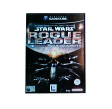 STAR WARS ROGUE leader ROGUE SQUADRON II 2 Nintendo Gamecube pal in scatola senza manuale