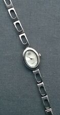 "Good quality everyday 925 Sterling silver MOP face Carvel Watch 6.25"" Stunning"