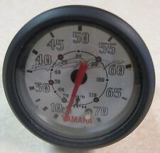 """Faria Yamaha Exciter Boat Gauge 2"""" Domed Lens Speedometer 0-70 MPH SE7025A"""