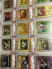 100 Card Lot Pokemon TCG Gen 1 and 2 Japanese: Guaranteed Rares + 1 x PSA Card