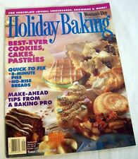 Woman's Day Holiday Baking BEST-EVER COOKIES,CAKES Jan 1994 FOR CHOCOLATE LOVERS