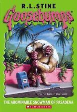 The Abominable Snowman of Pasadena  (Goosebumps Series)