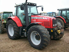 MF Massey Ferguson Tractor Workshop Manuals 7400 Series