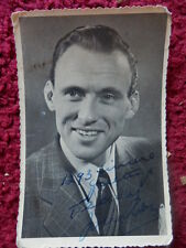 SINGER TEDDY JOHNSON AUTOGRAPHED PHOTO.