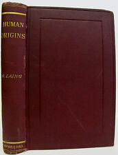 1892 HUMAN ORIGINS Natural History SCIENCE Evolution EGYPT China ARABIA limited