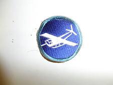 b0847 WW2 US Army Airborne Infantry Glider Parachute EM Cap pch lt bl brder A6A9