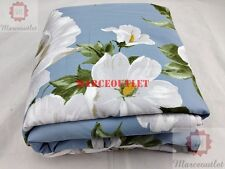 Department Store 1872 Serena FULL / QUEEN Duvet Cover Sky Blue Floral
