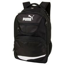 "BACKPACK / PUMA SQUAD / BLACK WHITE 17"" W LAPTOP SLEEVE / SPORT AND SCHOOL NWT!"
