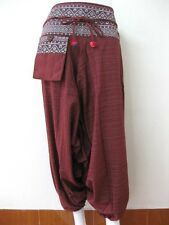 Hmong Harem Pants Bohemian Tribal Aladdin Genie Boho Yoga Hippy Trousers Thai