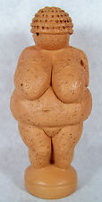 "1998 Venus of Willendorf 6"" Neolithic Mother Goddess Ganges Clay Statue by JBL"