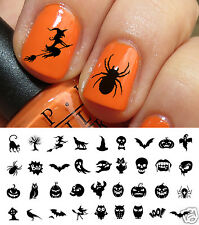 Halloween Nail Art Decals Waterslide Decals Set #3 - Salon Quality!